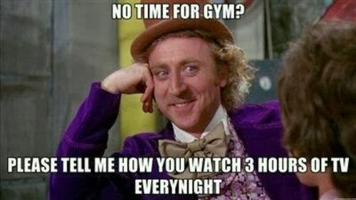 no time to workout